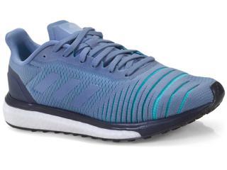 Tênis Masculino Adidas Ac8133 Solar Drive m  Azul/preto/branco - Tamanho Médio