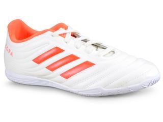 Tênis Masculino Adidas D98073 Copa 19.4 in Off White/laranja - Tamanho Médio