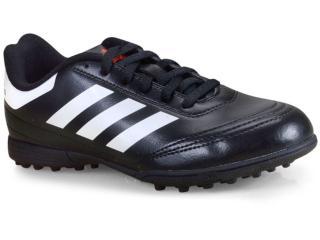 Tênis Masc Infantil Adidas Aq4304 Goletto vi tf Junior Preto/branco - Tamanho Médio