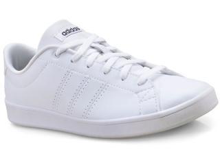 e81292433 Tênis Feminino Adidas B44667 Advantage Clean qt w Branco