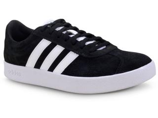 Tênis Masculino Adidas Cl5386 vl Court 2.0 Preto/branco - Tamanho Médio