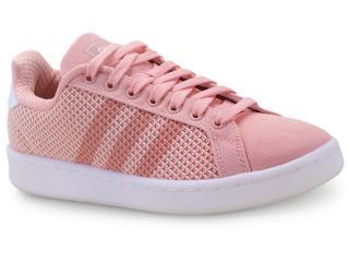 Tênis Feminino Adidas F36501 Grand Court Salmão - Tamanho Médio