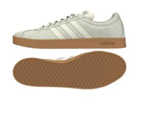 Tênis Masculino Adidas Ee6893 vl Court 20 m Cinza/branco - Tamanho Médio