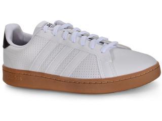Tênis Masculino Adidas Ee7886 Grand Court Branco - Tamanho Médio
