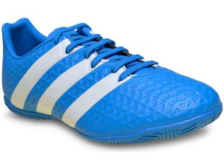 Tênis Masculino Adidas Af5041 Ace 16.4 in Azul/branco - Tamanho Médio