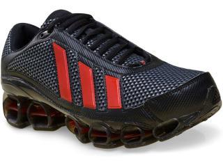 Tênis Masculino Adidas U44134 Preto/vermelho - Tamanho Médio