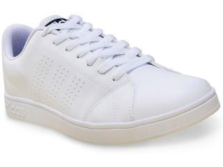 Tênis Masculino Adidas F99252 Advantage Clean vs Branco - Tamanho Médio