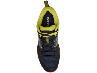 Tênis Adidas AQ5921 GALAXY TRAIL Pretoamarelolaranja... b46d2d4b99707