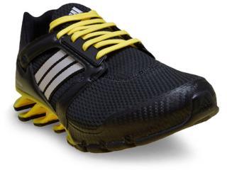 Tênis Masculino Adidas Aq4527 Springblade Preto/amarelo - Tamanho Médio