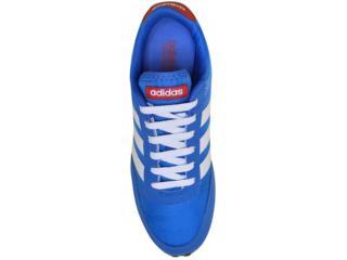 832f8fb057 Tênis Adidas AW5051 V RACER Azulbrancovermelho Comprar...