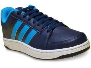 Tênis Masculino Adidas B74509 vc Hoops Marinho/azul/branco - Tamanho Médio
