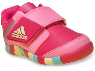 Tênis Fem Infantil Adidas Ba9556 Fortaplay ac i Rosa - Tamanho Médio