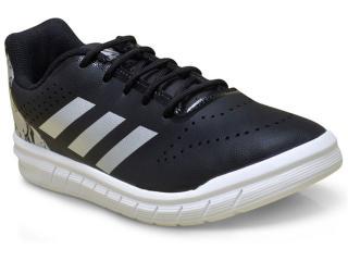 Tênis Masculino Adidas H68506 Quicksport jr Preto/prata/bco - Tamanho Médio