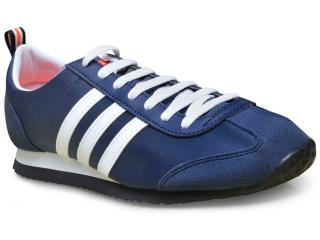 cf92577c6c Tênis Adidas AW3883 VS JOG Marinhobranco Comprar na Loja...