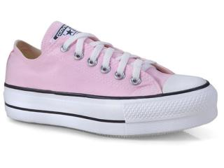 Tênis Feminino All Star Ct09630001 Rosa/branco/preto - Tamanho Médio