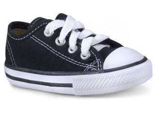 Tênis Uni Infantil All Star Ck05060002 Preto/branco - Tamanho Médio