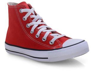 Tênis Unisex All Star Ct00040004 Vermelho/cru/preto - Tamanho Médio