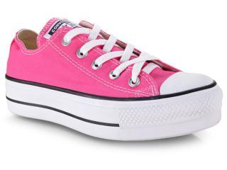Tênis Feminino All Star Ct09630013 Pink/preto/branco - Tamanho Médio