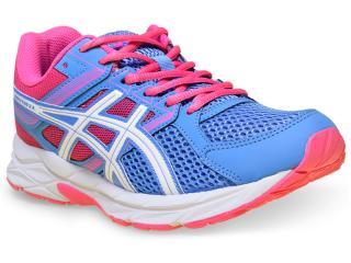 Tênis Feminino Asics T058a.4701 Gel Contend 3 Azul/rosa - Tamanho Médio