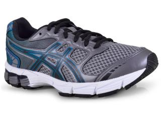 35fde3c338e Tênis Masculino Asics 1z21a001.021 Gel Connection Grafite preto verde