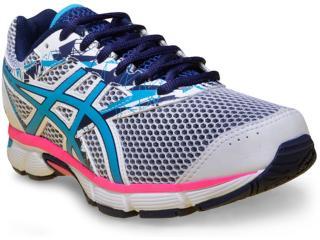 f1c32723a10 Tênis Feminino Asics T070a.0148 Gel Excite 4 a Branco azul rosa