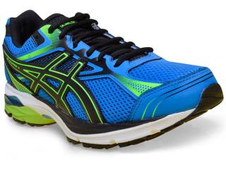 Tênis Masculino Asics T022a.4390 Gel Equation 9 a Azul preto limão acb80cd93ff0d