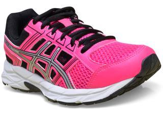 Tênis Feminino Asics T076a.2093 Gel Contend 4 a Pink/preto - Tamanho Médio