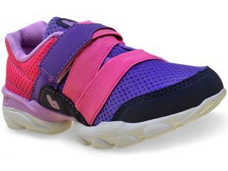 Tênis Fem Infantil Bibi 947015 Drop Roxo/pink/azul - Tamanho Médio