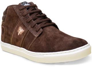 Tênis Masculino Cavalera Shoes 13.01.1627 Café - Tamanho Médio