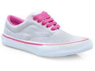 Tênis Feminino Cavaliery 5391249 Rustico Gelo/pink - Tamanho Médio
