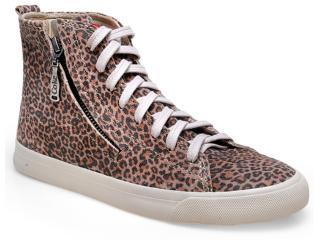 Tênis Feminino Coca-cola Shoes Cc0664 Natural - Tamanho Médio