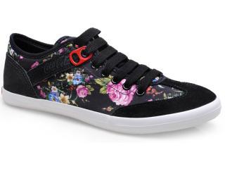 Tênis Feminino Coca-cola Shoes Cc0685 Preto - Tamanho Médio