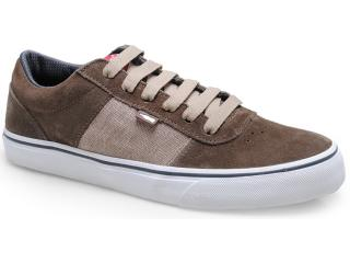 Tênis Masculino Coca-cola Shoes Cc0416 Taupe - Tamanho Médio