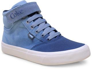 Tênis Feminino Coca-cola Shoes Cc0882 Denin/petróleo - Tamanho Médio