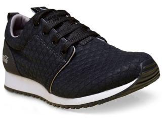 Tênis Feminino Coca-cola Shoes Cc1016 Preto - Tamanho Médio