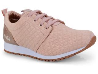 Tênis Feminino Coca-cola Shoes Cc1016 Nude - Tamanho Médio