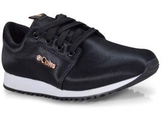Tênis Feminino Coca-cola Shoes Cc1432 Preto - Tamanho Médio