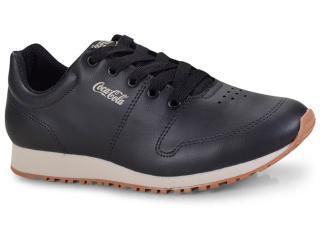 Tênis Masculino Coca-cola Shoes Cc1461  Preto - Tamanho Médio
