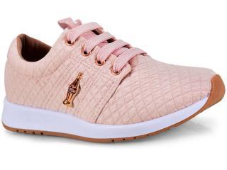 Tênis Feminino Coca-cola Shoes Cc1441  Nude - Tamanho Médio