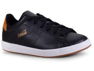 Tênis Masculino Coca-cola Shoes Cc1525 Preto - Tamanho Médio