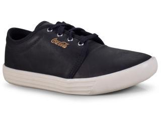 Tênis Masculino Coca-cola Shoes Cc1506 Preto/off White - Tamanho Médio