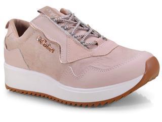 Tênis Feminino Coca-cola Shoes Cc1556 Rose - Tamanho Médio