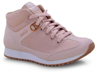 Tênis Feminino Coca-cola Shoes Cc1494 Rose/cobre - Tamanho Médio