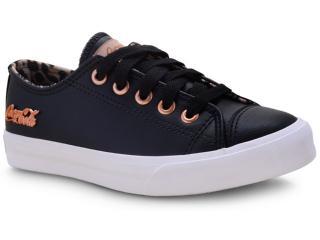 Tênis Feminino Coca-cola Shoes Cc1614 Preto/caramelo - Tamanho Médio