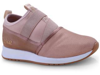 Tênis Feminino Coca-cola Shoes Cc1571 Rose - Tamanho Médio