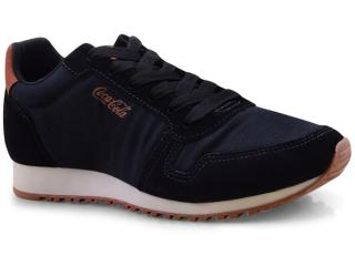 Tênis Masculino Coca-cola Shoes Cc1493 Preto - Tamanho Médio