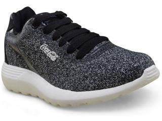 Tênis Feminino Coca-cola Shoes Cc1306 Preto - Tamanho Médio