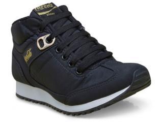 Tênis Feminino Coca-cola Shoes Cc1260 Preto - Tamanho Médio