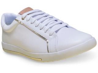 Tênis Feminino Comfortflex 16-59402 Branco - Tamanho Médio