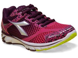 Tênis Feminino Diadora 125504 C9899 Fenix Roxo/pink - Tamanho Médio